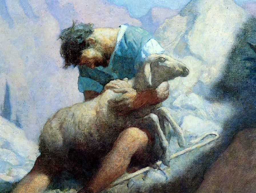 The Shepherd and the Lamb