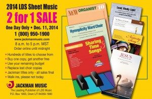Jackman Music Sale