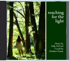 """Reaching for the Light"" CD cover"